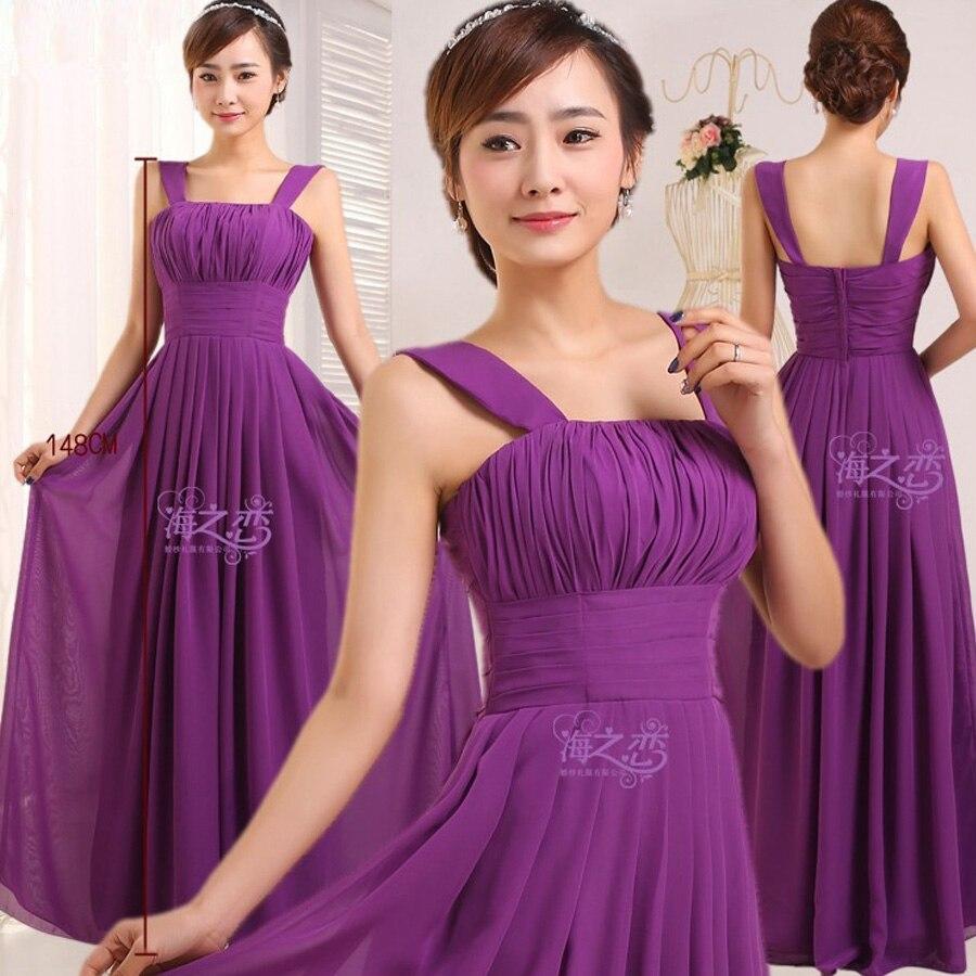 vestidos de festa vestido longo para casamento2018 new chiffon a ...