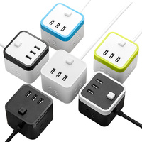 High quality Socket with usb for Phone Tablet PC travel charging adapter socket usb Smart Plug Adaptation Power Strip outlet