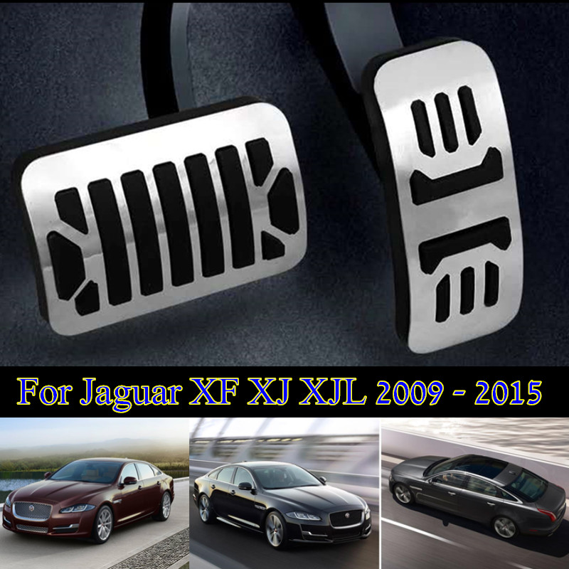Accessoires de voiture en alliage d'aluminium accélérateur pédale de frein pédale à pour Volvo XC90 V90 S90 2015 2016 2017 sans perceuse
