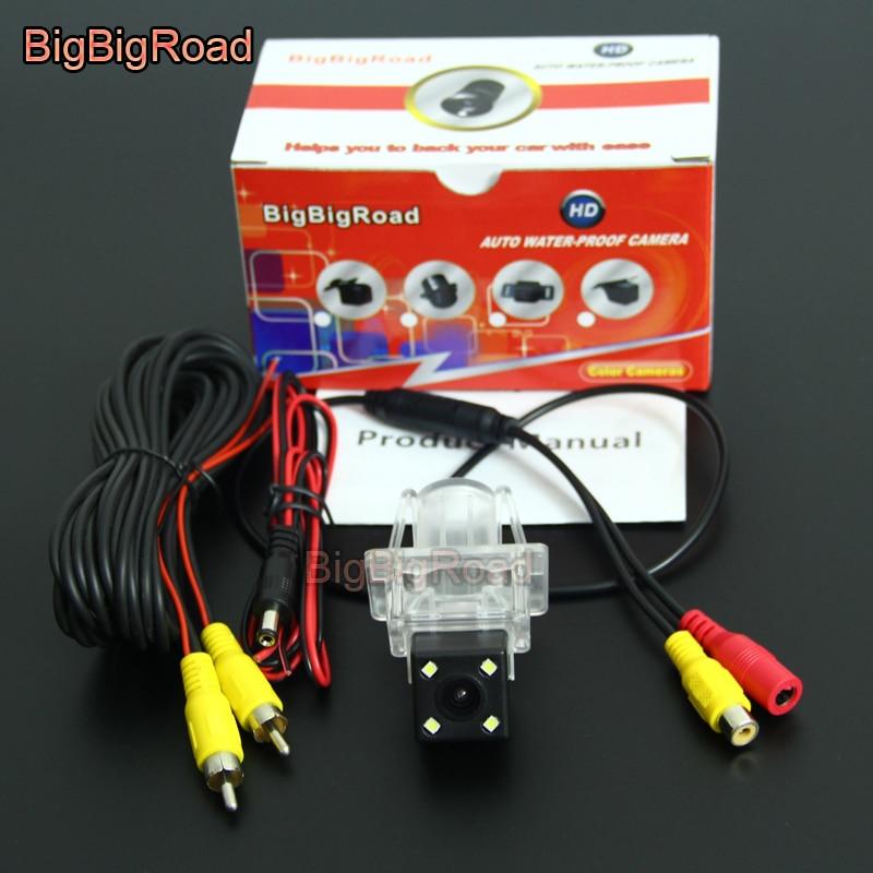 BigBigRoad Car Rear View Camera For Mercedes Benz MB C180 C200 C280 C300 C350 C63 AMG