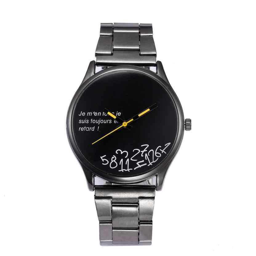 2018 ใหม่ MIGEER แฟชั่นคริสตัลสแตนเลสสตีลนาฬิกาข้อมือควอตซ์สร้อยข้อมือนาฬิกา para hombres คุณภาพสูง