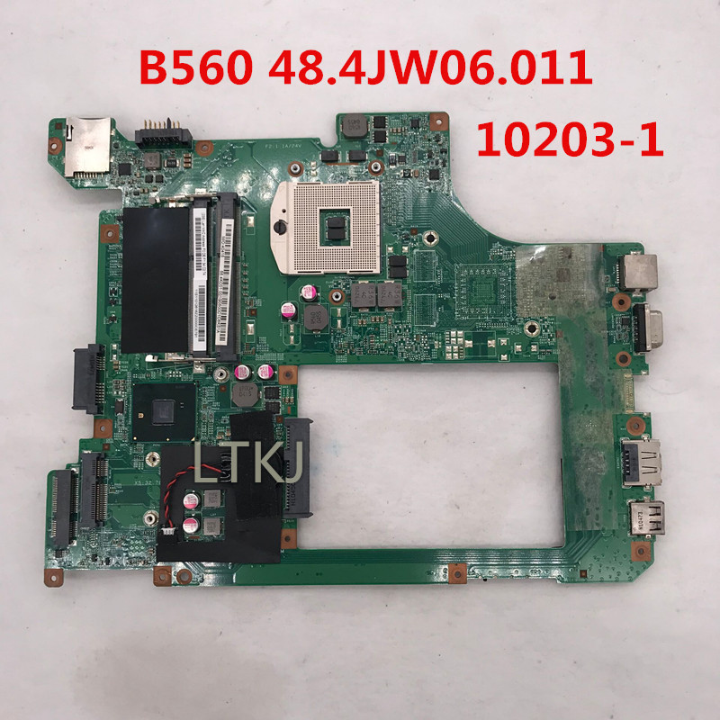 For Lenovo B560 laptop motherboard 48.4JW06.011 Intel CPU DDR3 100/% tested