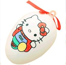 iWish 70mm DIY Easter Drawing Colorful Egg For Children Kids Toys Plastic Painting Colored Eggs Events Birthday Party Gift Decor