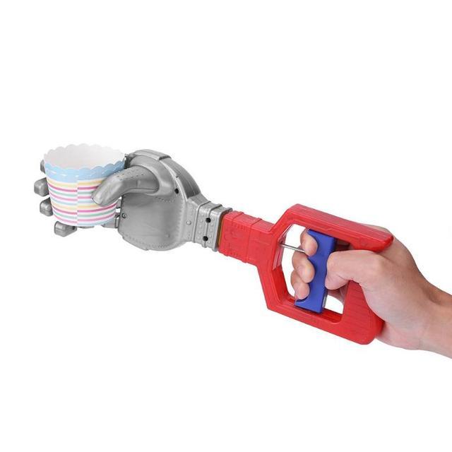 funny plastic robot claw hand grabber toys grabbing stick kid boy