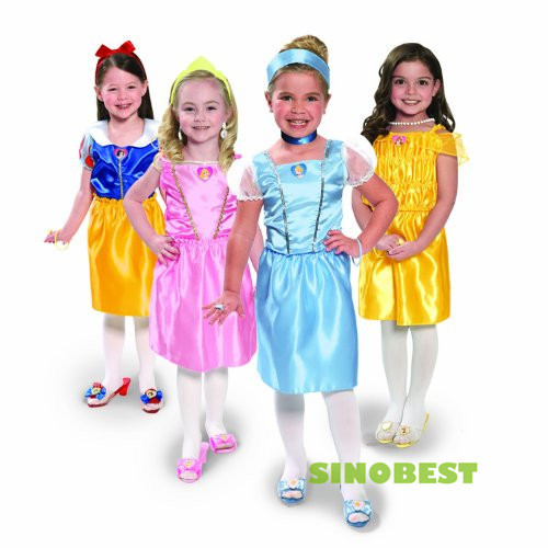 Original Princess Snow White Cinderella Dresses Costumes