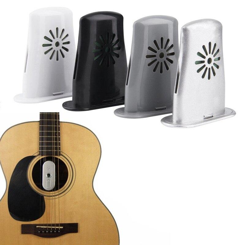 Plastic Guitar Sound Holes Humidifier Air Purifier Aroma Diffuser Mist Maker Essential Oil Diffuser Guitar Moisturizing Supplier
