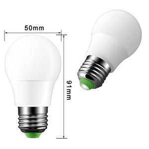 Image 4 - E27 LED 16 צבע שינוי RGB קסם אור הנורה מנורת 85 265V 110V 120V 220V RGB Led אור זרקור + IR שלט רחוק