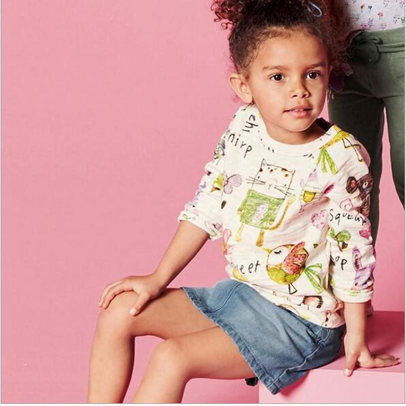 1916a1046 New Girls T Shirt Spring Clothes Nova Kids Wear Baby Girl T Shirts ...