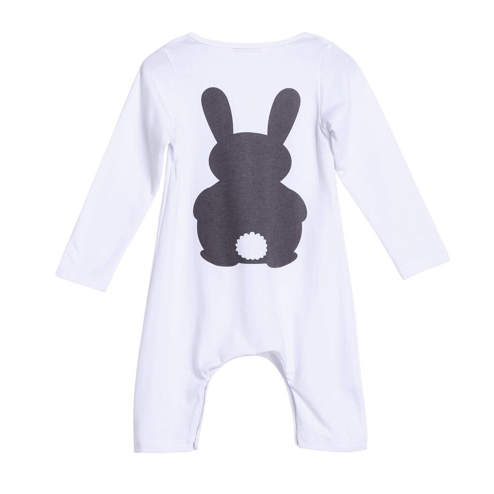 dda8b5fb4 Baby Clothes Bunny Romper Winter Costumes Warm Newborn Kids Infant ...