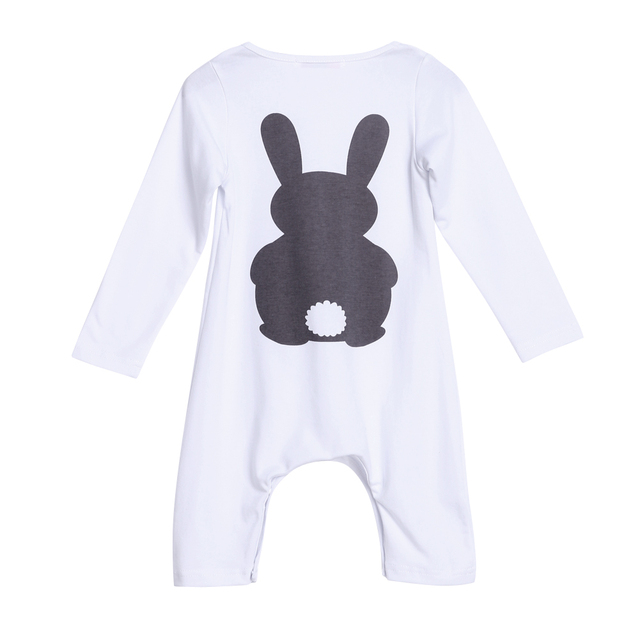 dda8b5fb4 Baby Clothes Bunny Romper Winter Costumes Warm Newborn Kids Infant ...