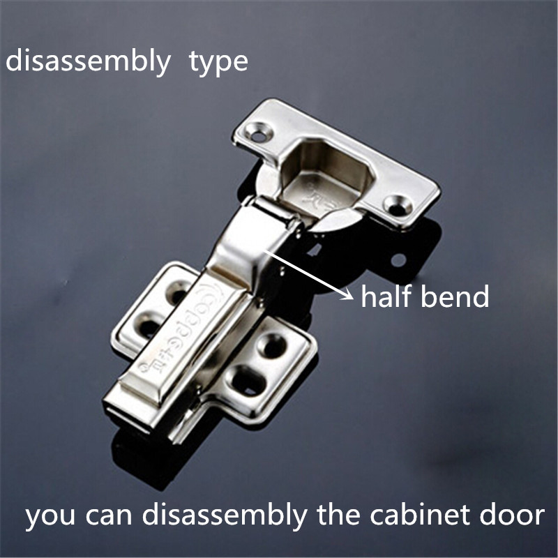 Aliexpress.com : Buy Stainless steel half bend hinges disassembly ...