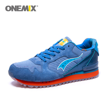 Onemix men's retro sport running shoes cheap portable shoes for women walking sneaker slow running shoes outdoor athletic shoe