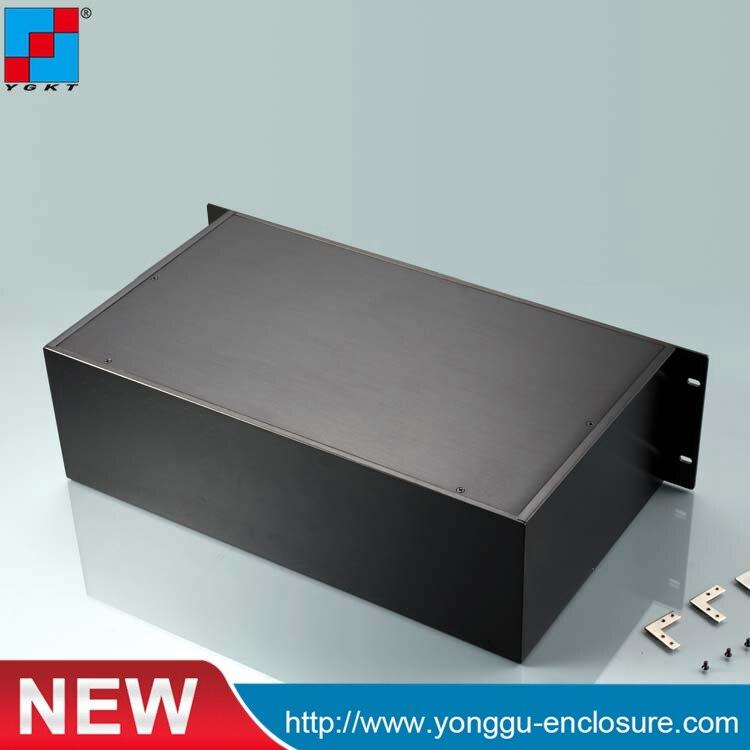 482*133.4*250mm 19 pouce 3u châssis de l'amplificateur de Puissance Entièrement en aluminium/AMP boîte cas de Châssis/casque boîte d'ampli PSU DIY