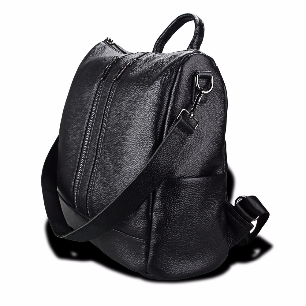 Swdvogan New Travel Backpack Korean Women Rucksack Pocket Genuine Leather Men Shoulder bags Student School bag Soft Backpacks 2017 new masked rider laptop backpack bags cosplay animg kamen rider shoulders school student bag travel men and women backpacks