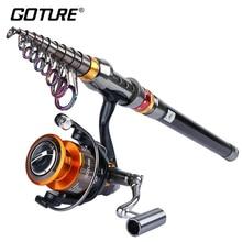 Goture Rod Combo Fishing Kit 4000 Series Metal Spinning Fish