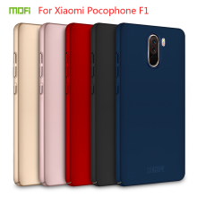 For Xiaomi Pocophone F1 Case Cover MOFI Fitted Cases PC Hard Case For Pocophone F1 Cover Phone Shell thin Cover For Poco F1 for xiaomi pocophone f1 case slim skin matte cover for xiaomi f1 pocophone f1 case xiomi hard frosted cover xiaomi poco f1 case