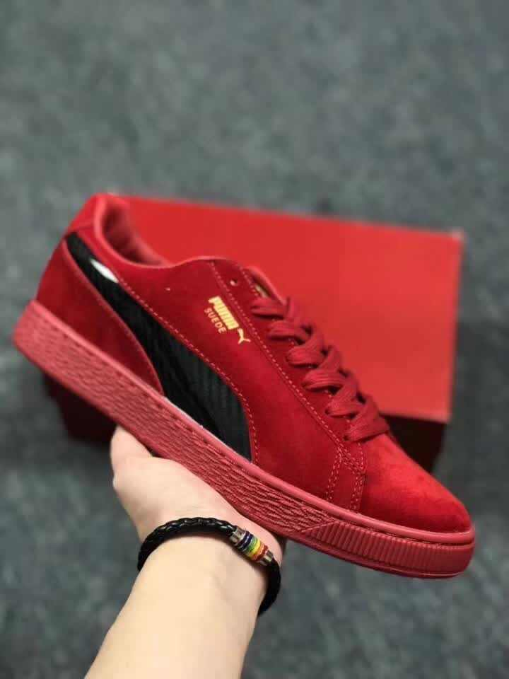 New Puma men and women Creeper red Black autumn winter new style casual  hipster sneakers a3f5c257c