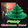 Funny Christmas Card magic tricks magic props