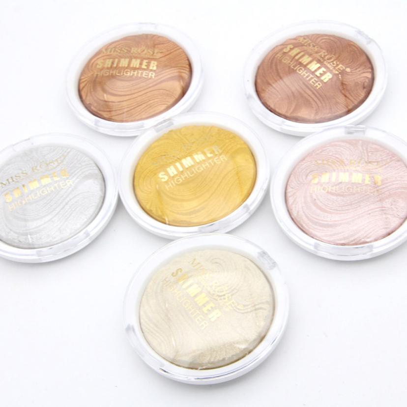 3D Shimmer Highlighter Face Powder Palette Face Base shine Illuminator Makeup SP22 Drop Shipping