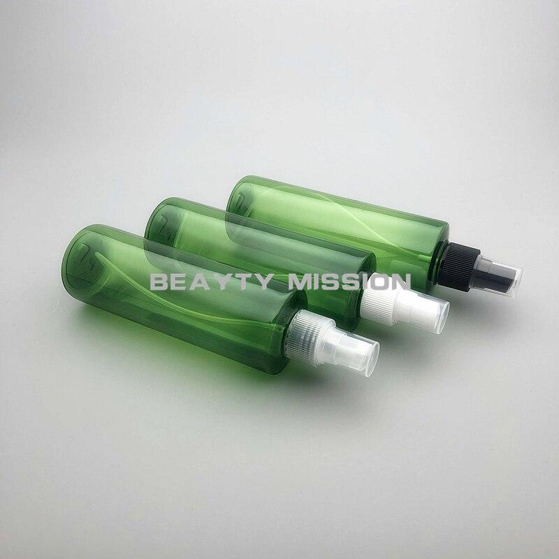 Beauty Mission 250ml 24 Uds botella rociadora de plástico PET verde con atomizador negro/transparente/blanco contenedor de Perfume cosmético L.O.L. ¡Sorpresa! Lol dolls, juguetes para sorpresa, muñeca bonita para el pelo, caja ciega Manual DIY, modelo de muñeca de juguete, regalo enviado al azar
