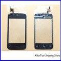 Оригинальный Новый Мобильный Телефон Сенсорный Экран Для Fly IQ239 + IQ239 Плюс Дигитайзер Датчик Стекло Сенсорная Панель, черный/Белый