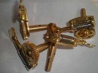 1 Set GRAND Allemand Style Double basse chevilles 3/4 à 4/4 taille basse tuners machine head 4 pcs/ensemble