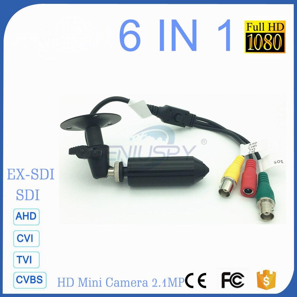 Panasonic Senor Starlight 1080P Full HD Mini Bullet Pin Hole HD-SDI Camera Support AHD/TVI/CVI/CVBS-1Vp-p//EX-SDI Video Output voxlink ahd tvi cvi video converter full hd 1080p tvi cvi ahd signal to cvbs vga hdmi hd video converter for cctv cameras