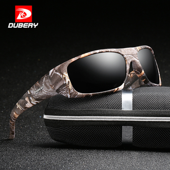 DUBERY Square Sport Sunglasses
