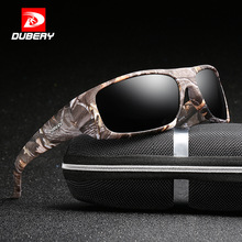 DUBERY  Sport Sunglasses Polarized For Men Sun Glasses Squar