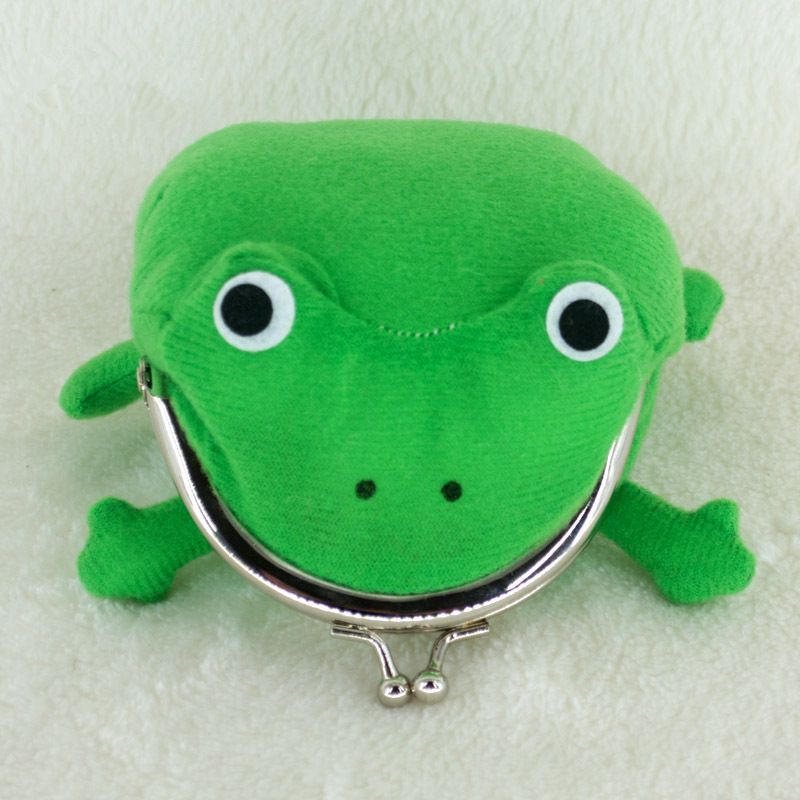 Uzumaki Anime Naruto Frog Shape Cosplay Coin Purse Wallet Soft Furry Plush