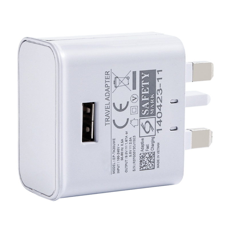 Mobile Phone Accessories 3-port Usb Uk Plug Portable Charger Universal Phone Tablet Pc Charging Head Travel Charger Adapter White High Quality J25