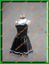 DEATH NOTE Heroine Amane Misa Custom Made Black Deess Cosplay Costume