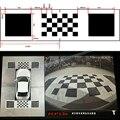 4 4*1 2 м 3D Автомобильная камера коррекция калибровки ткань для 360 градусов объемного вида птицы панорамная DVR система