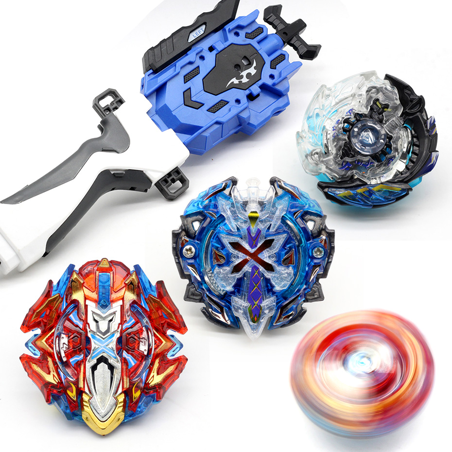 New Brand <font><b>Beyblade</b></font> <font><b>Burst</b></font> B127 <font><b>B128</b></font> B89 fafnir CHO-Z VALKYRIE.Z.Ev with launcher <font><b>Beyblade</b></font> Beybladetop spinner Toy for Children image