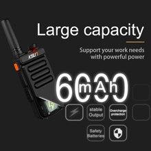(2 piezas) KSUN X-30 Walkie Talkie Radio portátil de mano 8W de alta potencia UHF de mano de dos vías Radio comunicador HF transceptor