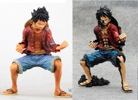 2pcs Set One Piece King Modeling Luffy 2 Files 1 7 Scale Clay Action Figure Collectible