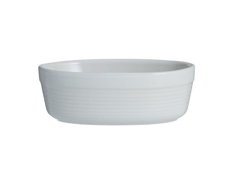 Dish for запекания Mason Cash, William Mason, 17*10,5*6 cm, White цены онлайн