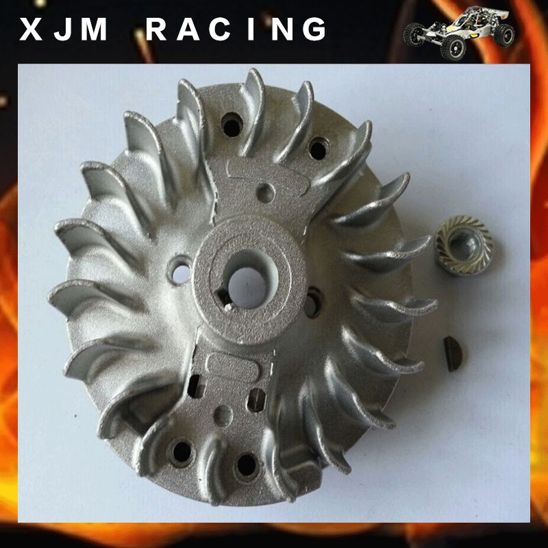 Flywheel Magneto fits 23cc 26cc 29cc 30.5cc CY Fuelie Engine for 1/5 HPI BAJA 5B 5T SC KM Rovan rc car toy parts