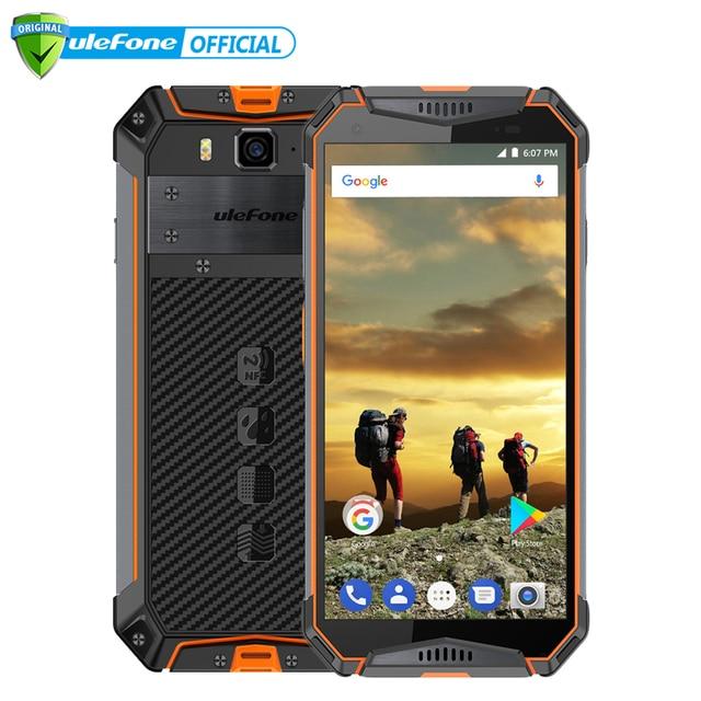 "Ulefone Armor 3 IP68 Waterproof Mobile Phone Android 8.1 5.7"" FHD+ Octa Core 4GB+64GB 21MP 10030mAh Global Version Smartphone"