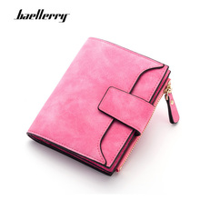 Baellerry 2019 Wallet Women Leather Zipper & Hasp Small and Slim Purse Coin Pocket Money Bag luxury Wallets Female Cards Holder 3157 fashion women wallet leather small crossbody bags girls purse multiple cards holder phone pocket female standard wallets