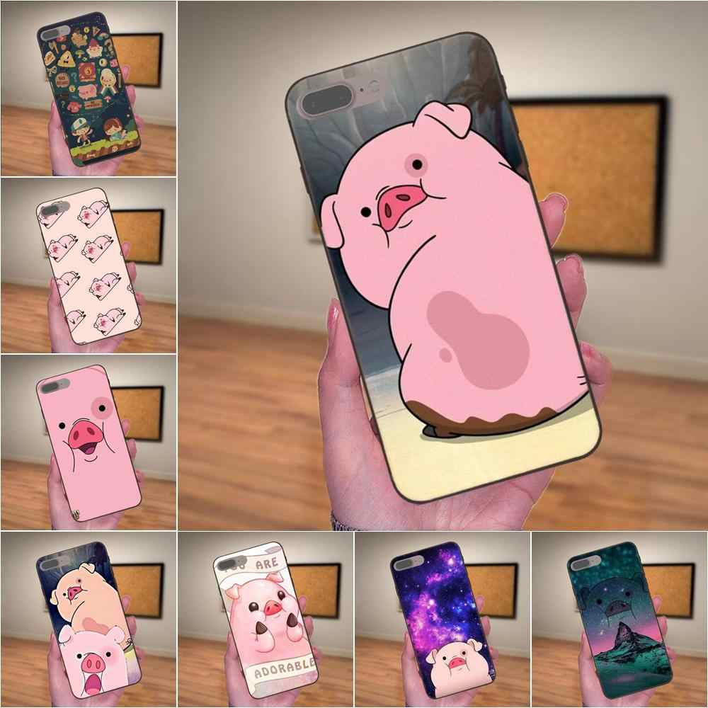 Soft Coque Case Kawaii Pato Gravity Falls Wallpaper For Apple Iphone 4 4s 5 5s Se 6 6s 7 8 Plus X Xs Max Xr