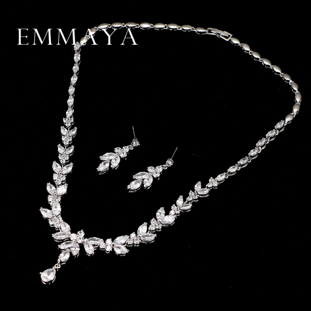 Luxury Crystal Zirconia Jewelry Set