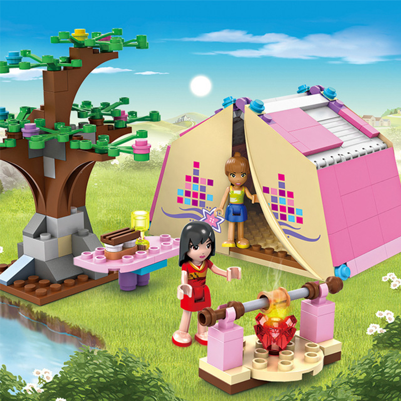 172Pcs 14518 Dream Girl Educational Building Blocks Toys For Children Kids Gifts Friends Compatible With Legoe