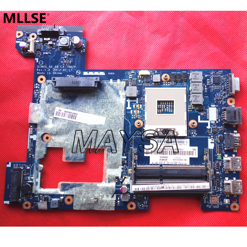 Original Laptop Motherboard Fit For Lenovo G580 P580 P585l System Board LA-7982P HM76 GMA HD DDR3, 100% working pet safe electronic shock vibrating dog training collar with remote control 2 x aaa 1 x 6f22 9v