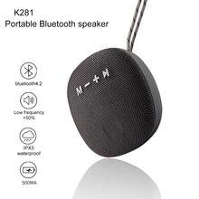 где купить K281 Bluetooth Speaker Portable Wireless Column Fabric Waterproof Outdoor Loudspeaker Stereo Subwoofer Sound Box Fm Radio Music по лучшей цене