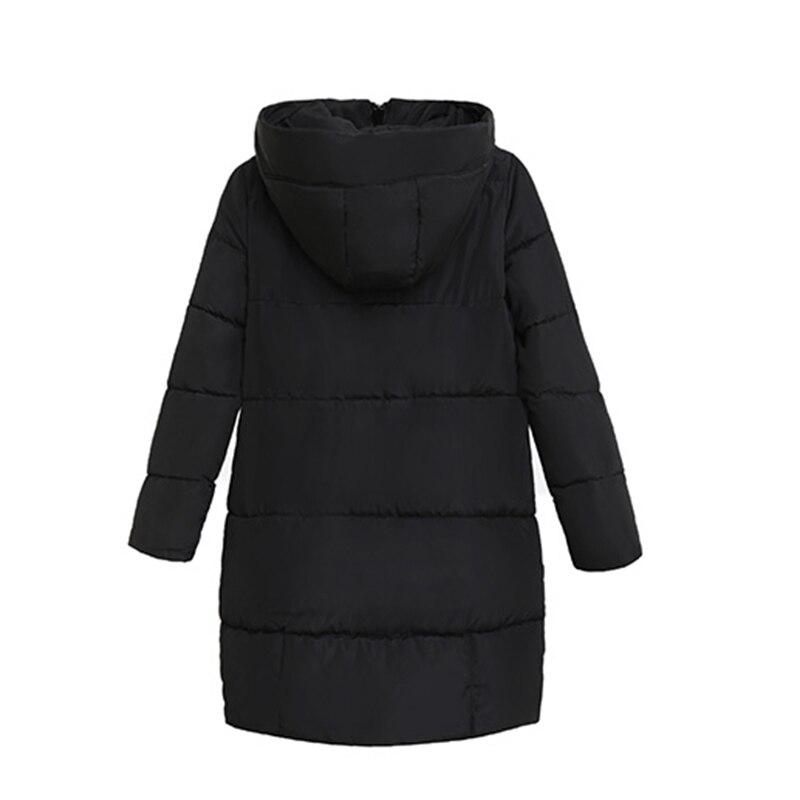 Manteaux Femmes À Nouvelle Green D'hiver Manteau La Plus Épaississent Lâche army gris Coton Noir Ac272 Capuchon 2017 Taille Veste Chaud Long Parka waAqtS