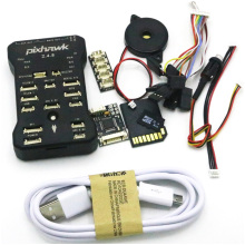 Pixhawk PX4 Autopilot PIX 2.4.8 32 Bit Flight Controller + Safety Switch + Buzzer 4G SD +I2C Splitter Expand Module + USB cable 3dr pixhawk airspeed sensor kit for px4 autopilot flight controller