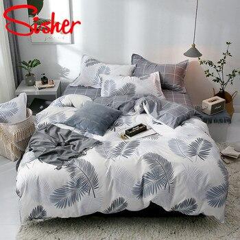 Modern Printed Bedding Set 4 Pcs 1