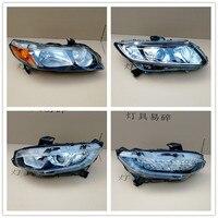 OEM Parts for Honda civic Headlights Front Head lamp light 2016 2017 2018 2018 DRL Daytime Running Light Bi Xenon HID LED
