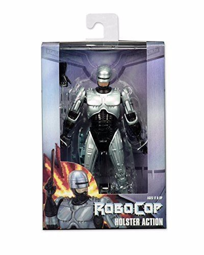 """NECA 7"""" <font><b>Robocop</b></font> Warrior <font><b>Action</b></font> <font><b>Figure</b></font> Body with Spring Loaded Holster Model Toys Kids Gifts Collections"""
